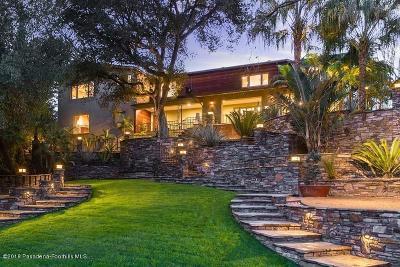 San Marino Single Family Home For Sale: 2477 Ridgeway Road