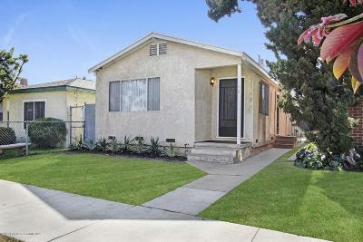 Long Beach Single Family Home For Sale: 208 East 67th Way