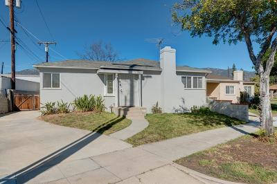 Pasadena Single Family Home For Sale: 291 North Sierra Madre Boulevard
