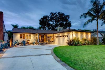 Glendale Single Family Home For Sale: 1621 San Gabriel Avenue