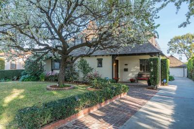 San Marino Single Family Home For Sale: 1060 Darby Road