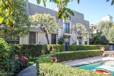 Pasadena Condo/Townhouse For Sale: 346 South Orange Grove Boulevard #18