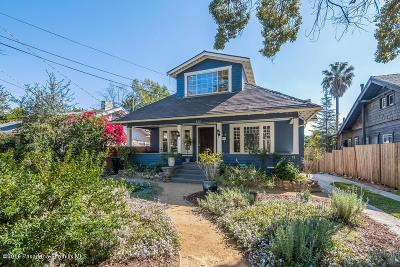 Pasadena Single Family Home For Sale: 532 Herbert Street
