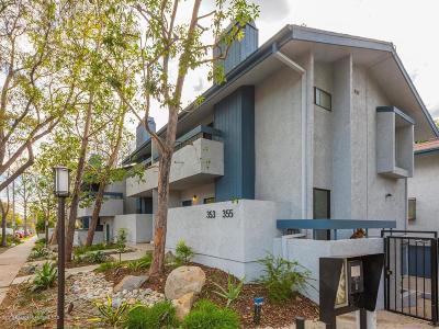 Pasadena Condo/Townhouse For Sale: 353 South Marengo Avenue #1
