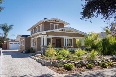 Pasadena Single Family Home For Sale: 1140 North Mar Vista Avenue