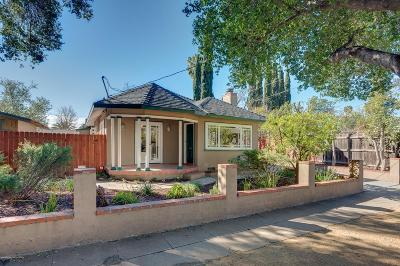 Pasadena Single Family Home For Sale: 1058 East Claremont Street