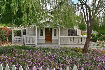 Sierra Madre Single Family Home For Sale: 258 North Mountain