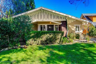 South Pasadena Single Family Home For Sale: 700 Magnolia Street