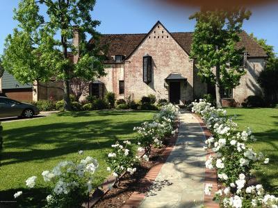 Pasadena Single Family Home For Sale: 548 Vallombrosa Drive