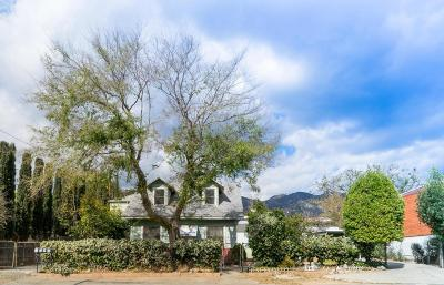 La Canada Flintridge Single Family Home For Sale: 1413 Curran Street
