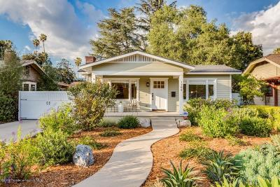Pasadena Single Family Home For Sale: 1755 Oakdale Street