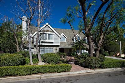 La Canada Flintridge Single Family Home For Sale: 1211 Homewood Lane