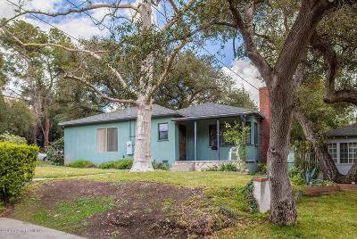Glendale Single Family Home For Sale: 4114 Dunsmore Avenue