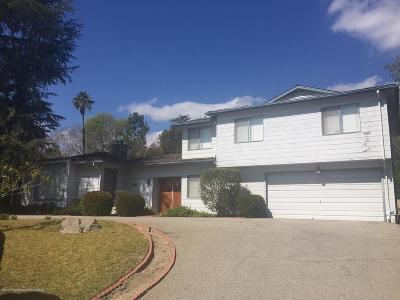 La Canada Flintridge Single Family Home For Sale: 5151 La Canada Boulevard