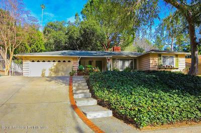 La Canada Flintridge Single Family Home For Sale: 441 Paulette Place