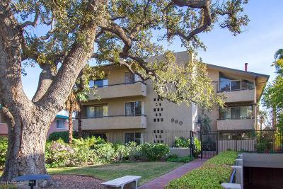 Pasadena Condo/Townhouse For Sale: 960 San Pasqual Street #207