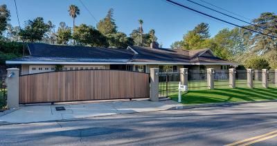 Shadow Hills Single Family Home For Sale: 9620 La Canada Way