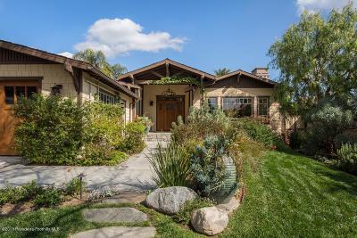 La Canada Flintridge Single Family Home For Sale: 4610 Alcorn Drive
