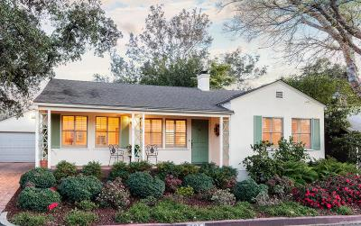 South Pasadena Single Family Home For Sale: 321 Alta Vista Avenue