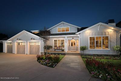 La Canada Flintridge Single Family Home For Sale: 5147 Princess Anne Road