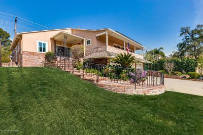 Glendale Single Family Home For Sale: 3307 Park Vista Drive