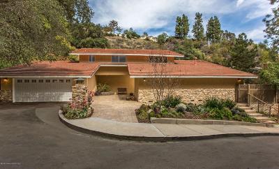 Glendale Single Family Home For Sale: 3160 Glencrest Drive