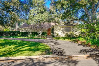 La Canada Flintridge Single Family Home For Sale: 4253 Shepherds Lane