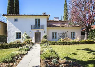 San Marino Single Family Home For Sale: 1865 Warwick Road