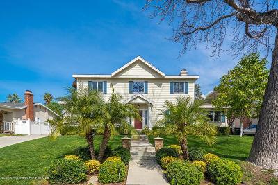 La Canada Flintridge Single Family Home For Sale: 4962 Revlon Drive