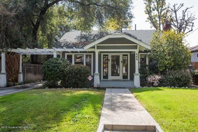 Pasadena Single Family Home For Sale: 468 Atchison Street