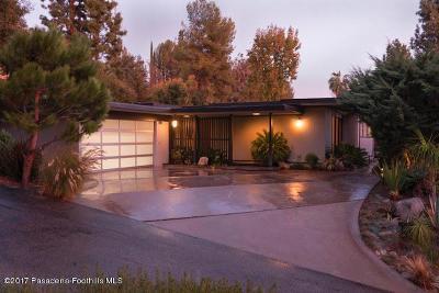 La Canada Flintridge Single Family Home For Sale: 5246 Gould Avenue
