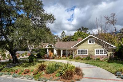 La Canada Flintridge Single Family Home For Sale: 2127 Lyans Drive