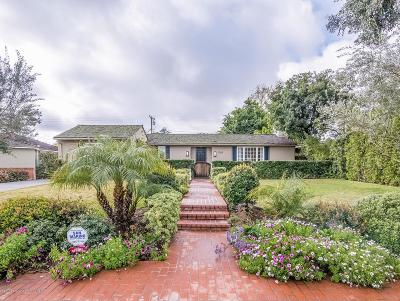 Pasadena Single Family Home For Sale: 3564 Thorndale Road