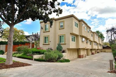 Pasadena Condo/Townhouse For Sale: 802 Magnolia Avenue #4