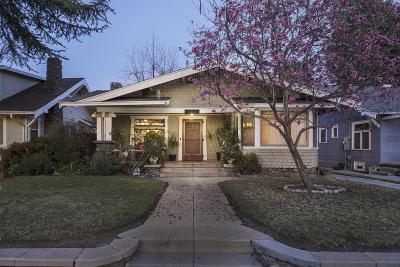 Pasadena Single Family Home For Sale: 1648 North Los Robles Avenue