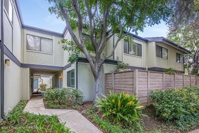 Pasadena Condo/Townhouse For Sale: 416 Rosemont Avenue