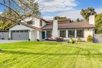 Pasadena Single Family Home For Sale: 1969 Oakwood Street