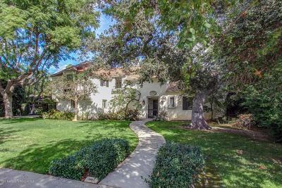 San Marino Single Family Home For Sale: 1660 Oak Grove Avenue