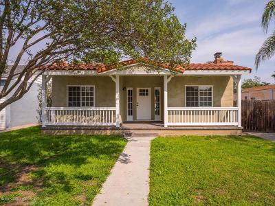 Burbank Single Family Home For Sale: 1420 North Keystone Street