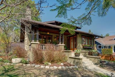 Sierra Madre Single Family Home For Sale: 225 West Highland Avenue