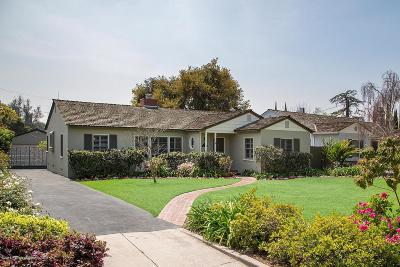 San Marino Single Family Home For Sale: 2640 Melville Drive