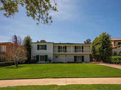 San Marino Single Family Home For Sale: 1735 Chelsea Road