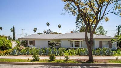 Sierra Madre Single Family Home For Sale: 420 East Montecito Avenue
