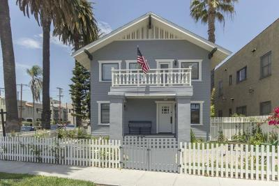 Long Beach Single Family Home For Sale: 3401 East 2nd Street
