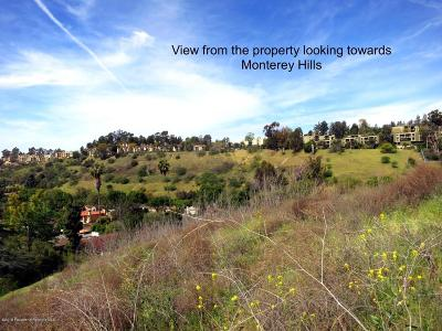 South Pasadena Residential Lots & Land For Sale: Harriman Avenue