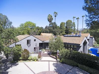 San Marino Single Family Home For Sale: 1010 Rosalind Road
