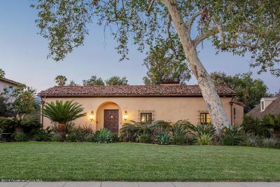 San Marino Single Family Home For Sale: 2446 South Oak Knoll Avenue