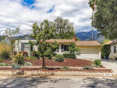 Pasadena Single Family Home For Sale: 3235 Las Lunas Street