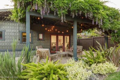 Pasadena Single Family Home For Sale: 1080 North Marengo Avenue