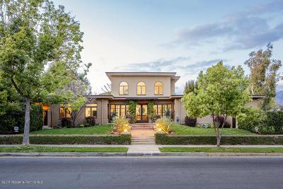 Pasadena Single Family Home For Sale: 555 Fillmore Street